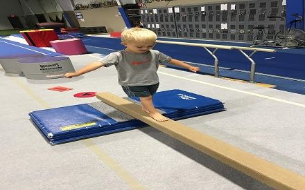 840 - Gymnastics-Developmental Ages 3-5